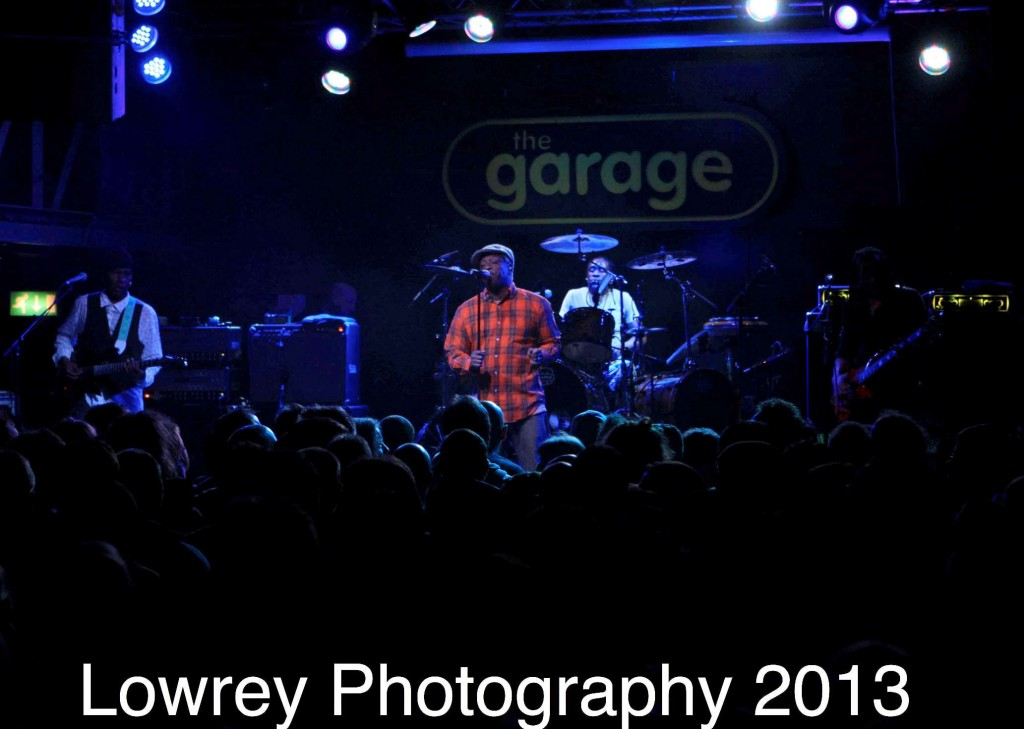 Living Colour at Glasgow Garage 3/7/13