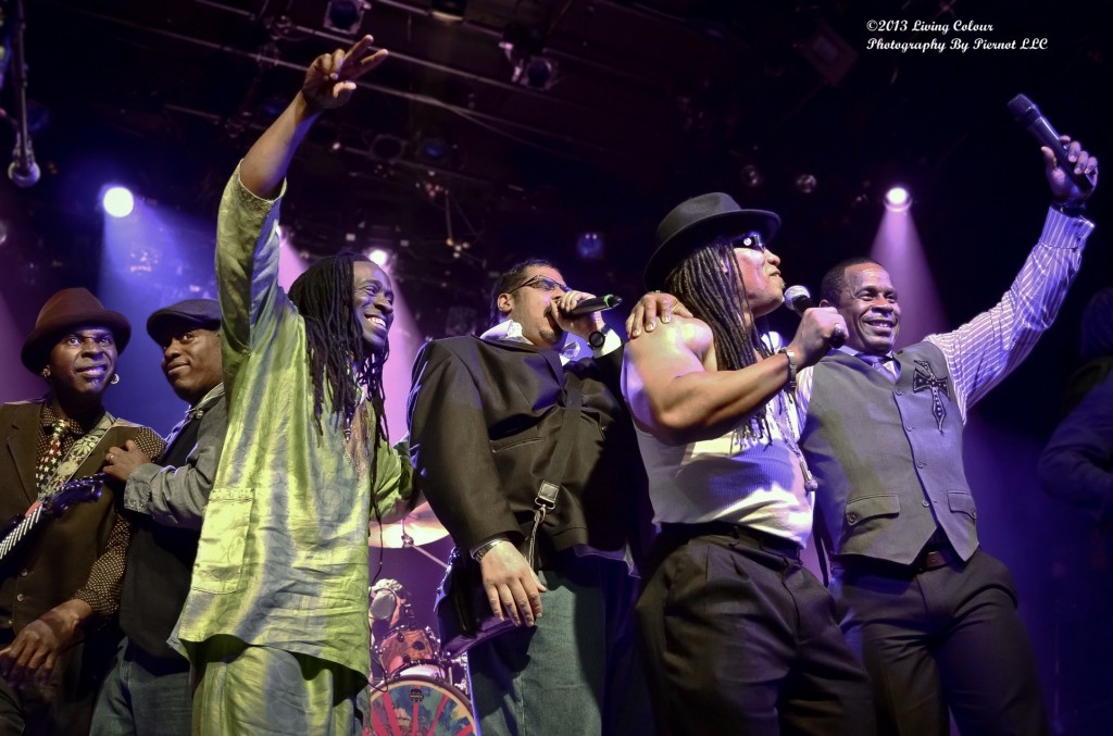 Living Colour , Wonder Mike, Melle Mel, Master Gee